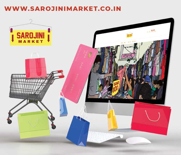 Sarojini market online 1